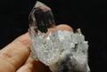 極上マスタークリスタル!超透明インド産ヒマラヤ水晶クラスター【最高品質・超透明・超光沢・レインボー・超激レア】