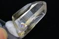 極上超透明!美しいレインボー入り!高波動ウラル産レムリアン水晶ゴールデンヒーラー26.3g【最高品質・高波動・超透明・超光沢・レインボー・超激レア】