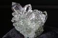 極上キラキラ!超透明インドマニハール産水晶クラスター62.1g【最高品質・超透明・超光沢・超激レア】