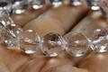 高波動!超透明センティエントプラズマクリスタル・ブレスレット12mmカット玉【最高品質・超透明・光沢・激レア】