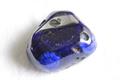 超激レア!高波動ロシア産アズライト・パームストーン49.6g【最高品質・光沢・超激レア】