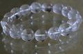 激レア!高品質マニカラン水晶ブレスレット12mm玉【高品質・透明・光沢・レインボー・激レア】
