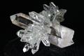 極上!エクストラハイグレード!超透明インドマニハール産水晶クラスター64.6g【最高品質・超透明・超光沢・DT・超激レア】