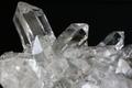 極上キラキラ!超透明インドマニハール産水晶クラスター147.3g【最高品質・超透明・超光沢・レインボー・超激レア】