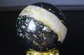 銀河ミルキーウェイ!ロシア産ナルサルスカイト58mm丸玉【最高品質・光沢・超激レア】