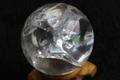 超激レア!キラキラアイリス!高波動ウラル産レムリアンレインボー水晶45mm丸玉【最高品質・高波動・透明・光沢・レインボー・超激レア】