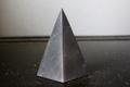 浄化・電磁波対策用!シュンガイトハイピラミッド8【高品質・光沢・激レア】
