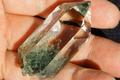 極上超透明!最高品質インドマニハール産クローライト水晶【最高品質・超透明・超光沢・レインボー・激レア】
