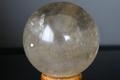 超激レア!ウラル産レムリアン水晶55mm丸玉【高品質・高波動・透明・光沢・レインボー・超激レア】