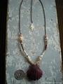 Bivalva Ebisu TOP in Mitra Flower Necklace
