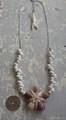 Ryukyu Cowry Hastula TOP White Mongo Necklace
