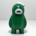 アレの見守りソフビ人形【GreenArmy】WHITE