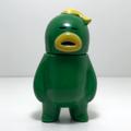 アレの見守りソフビ人形【GreenArmy】YELLOW