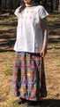 マヤンブラス パンテロホ村 手刺繍 半袖
