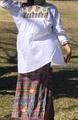 マヤンブラス サンアンドレス・ララインサール村手織り 白×グレー