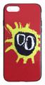 【Primal Scream】プライマル・スクリーム スクリーマデリカ iPhone7/ iPhone8シリコン TPU ケース レッド (サイド:黒/透明)