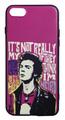 【Sex Pistols/Sid Vicious】セックスピストルズ「シド・ビシャス」イラスト iPhone7/ iPhone8/iPhoneSE(第2世代)シリコン TPUケース