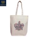【*pipicoa*Union Jack mania*】「LONDON」ショッピング 帆布トートバッグ  M