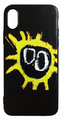【Primal Scream】プライマル・スクリーム スクリーマデリカ iPhoneX/ iPhoneXS シリコン TPUケース ブラック(サイド:黒)