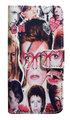 【David Bowie】デヴィット・ボウイ カレッジ iPhone7/ iPhone8ケース ウォレットタイプ(手帳型)
