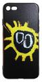 【Primal Scream】プライマル・スクリーム スクリーマデリカ iPhone7/ iPhone8 シリコン TPUケース ブラック(サイド:透明)
