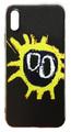 【Primal Scream】プライマル・スクリーム スクリーマデリカ iPhoneX/ iPhoneXS シリコン TPUケース ブラック(サイド:透明)