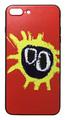 【Primal Scream】プライマル・スクリーム「スクリーマデリカ」iPhone 7 Plus/iPhone 8 Plus シリコン TPU ケース(サイド:黒)