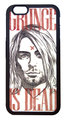 【Nirvana/Kurt Cobain】ニルヴァーナ カート・コバーン iPhone6/ iPhone6s ハードカバー