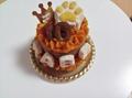 プレミアム無添加2段ケーキ 3号