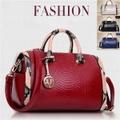 本革レディースハンドバッグ/本革バッグトートメッセンジャーバッグ/デザイナー高級ボストンバッグ