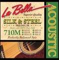 La Bella ラベラ 710M 12-56 SILK&STEEL Medium アコースティックギター弦 1450円