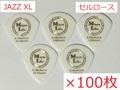 【×100枚 送料無料】JAZZ XL Celllose / Music Life Original Pick セルロース ジャズXL型 ピック 50円(税込)