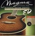 Magma Strings 10-48 GA120P Light EXTENDED LIFE COATED PHOSPHOR BRONZE マグマストリングス アコースティックギター弦 1100円