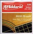 EJ12 D'Addario  13-56 Medium 80/20 Bronze / ダダリオ ミディアム 650円