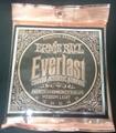 【真空パック】Everlast 2546 12-54 Ernie Ball Medium Light アーニーボール エバーラスト アコギ弦  1850円