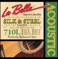 La Bella ラベラ 710L 11-51 SILK&STEEL Light アコースティックギター弦 1100円