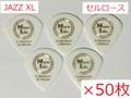 【×50枚 送料無料】JAZZ XL Celllose / Music Life Original Pick セルロース ジャズXL型 ピック 50円(税込)
