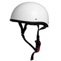TNK TS-29B ダックテールヘルメット P.WHITE ビッグサイズ(60-62cm未満)