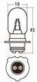 スタンレー A3625A 6V25/25W T19L 10ケ (1箱10ケ入)