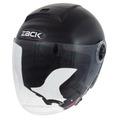 TNK ZR-20 ジェットヘルメット H.M.BLACK FREE(58-59cm)