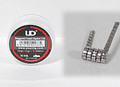 UD SS316 Staggered Fuse Clapton Ribbon Coil 0.2Ω 10個セット