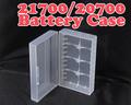 ノンブランド品 21700×2 Battery Case