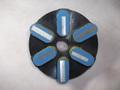 石材用メタル研磨盤  125ミリ #200 Z5   レジ巻きタイプ    (税抜き15000円 税1500円)