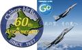 千歳基地開庁 60周年 50周年 パッチ