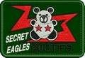 千歳基地 第203飛行隊 SECRET-EAGLES パッチ