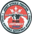 第302飛行隊(旧オジロワシ) 次期ステルス戦闘機 F-35A LIGHTNING パッチ