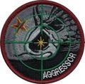 飛行教導群アグレッサー 赤星コブラ「戦競」パッチ