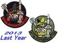 第301飛行隊ファイナルイヤースーパーファントムⅡスプーク サブパッチ