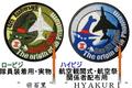 百里302飛行隊 F4ファントムⅡ採用40周年ショルダーパッチ