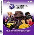 PSN プレイステーションネットワークカード 25£ UK 欧州版